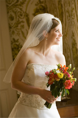 Bride at Earle-Harrison House